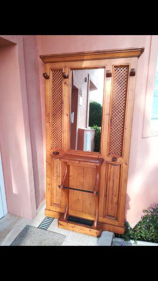 Recibidor o entradita ideal para casa rustica,,