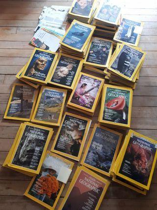NATIONAL GEOGRAPHIC, 116 revistas en ingles