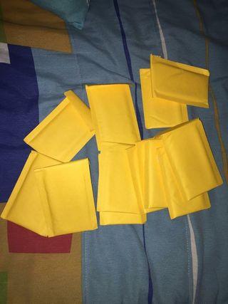 Lote de paquetes para envio