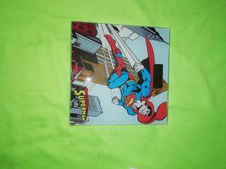 Superman báscula baño original