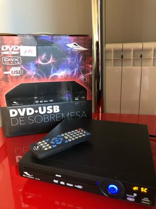 Reproductor DVD, USB