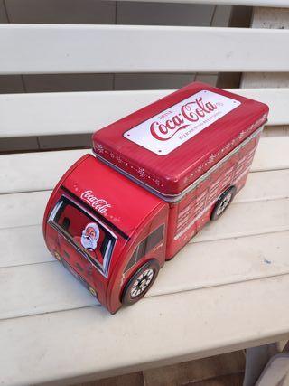 Camión Coca-Cola hojalata