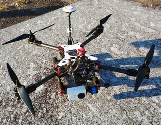 Dron profesional, completo