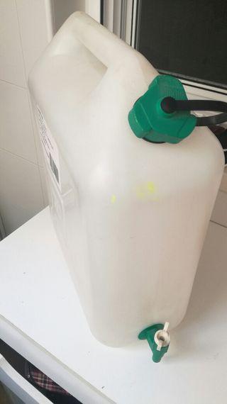 garrafa de 25 litros