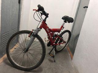 Bicicleta de montañan