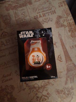 Reloj digital Star Wars