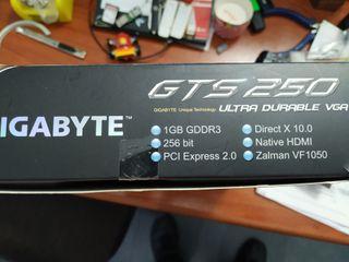 Tarjeta grafica Gigabyte GTS250