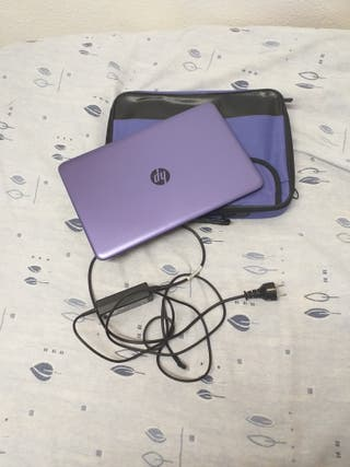 Portatil HP windows 10 lila