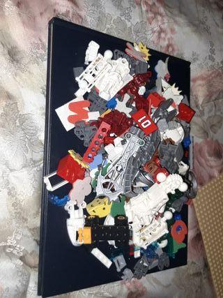 LOTE de piezas LEGO
