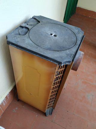 Estufa de leña vintage