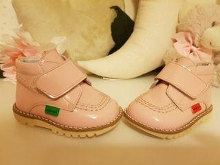 Zapatos - botines bebé piel