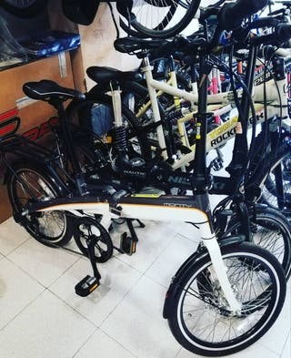 Bici eléctrica plegable Monty EF39 aluminio nueva