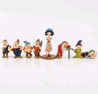 Lote Figuras Blancanieves+ 7 enanitos(ÚLTIMO LOTE)
