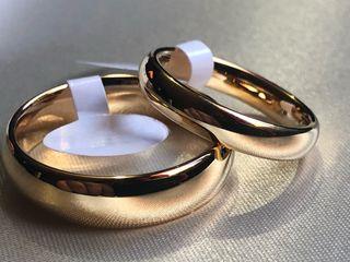 Anillos matrimonio clásico- ENTREGA INMEDIATA