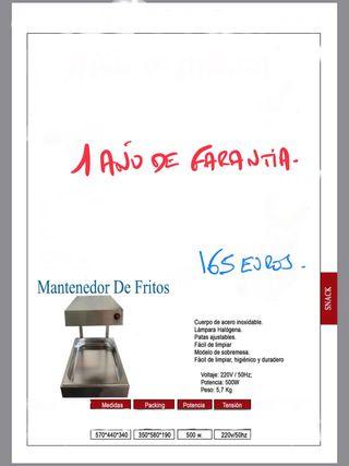 MANTENEDOR DE FRITOS