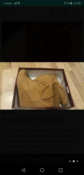 botines del bershka