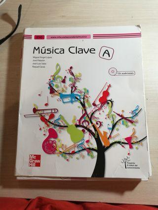 Libro Música Clave A 2° ESO