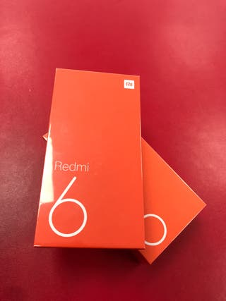 Xiaomi redmi 6 64gb/3gb (NUEVO)