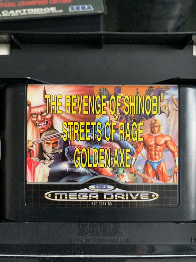 Shinobi, Streets of Rage, Golden Axe - SEGA MEGA D