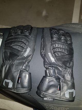 guantes de gel marca UNIK modelo K-11 Con refuerzo