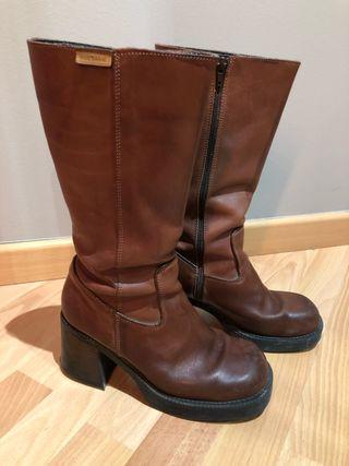 Botas de piel mustang n°39-40