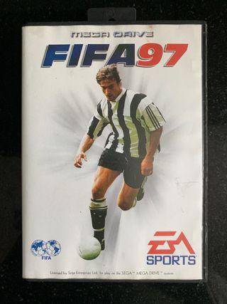 FIFA SOCCER 97 - SEGA MEGA DRIVE