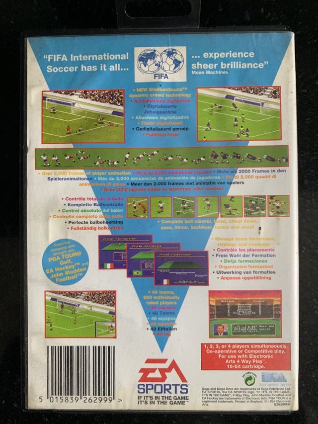 International Soccer - Sega Mega Drive