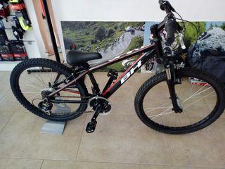 """Bicicleta de niño 24"""" BH SPIKE ALU 21v"""