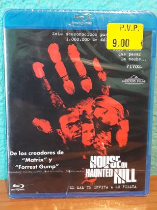 House on Haunted Hill bluray