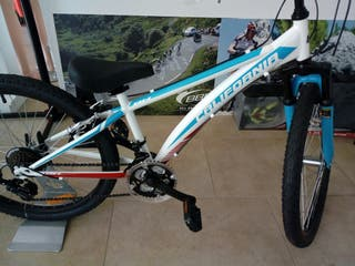 "Bicicleta de niño BH California 24"" 18v"