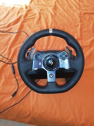 volante logitech G920 xbox one y pc