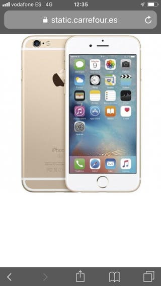 I phone 6s gold Rosa 64Gb