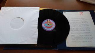 """carpeta de """"cantinflas"""" con disco incluido"""