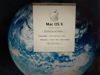 Macbook A1181 2 gb de ram