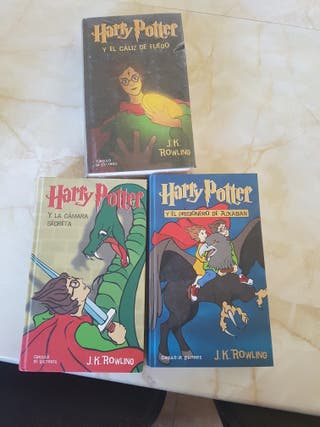 Pack 3 libros Harry Potter