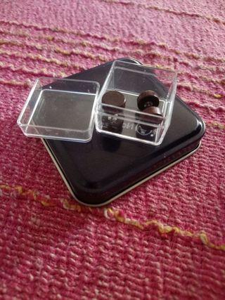 Piercings efecto madera diámetro 10 calibre 1.2
