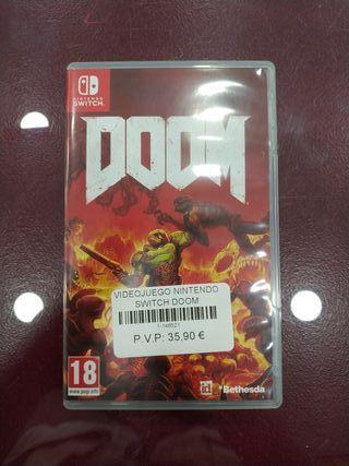 Videojuego Nintendo Switch Doom.