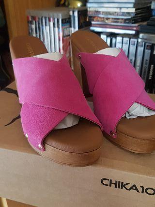 the latest 85e99 67419 Zapatos chika 10 talla 39
