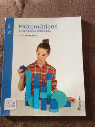 Matemáticas 4 ESO NUEVO