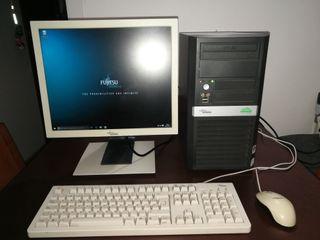 Ordenador, pantalla,teclado y ratón