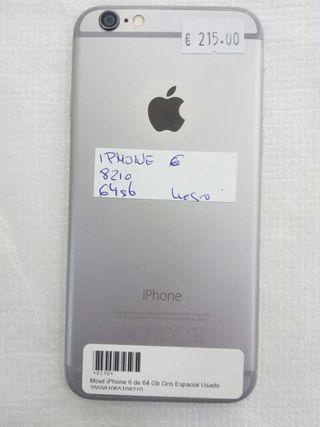 iPhone 6 de 64 Gb PLATA