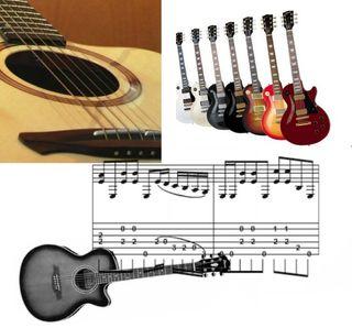 Clases de guitarra particulares en Conil