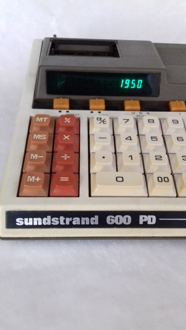 Calculadora Sundstrand