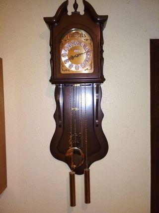 reloj pendulo de pared