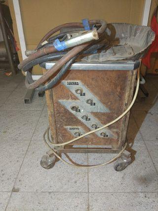 máquina de soldar rebajado