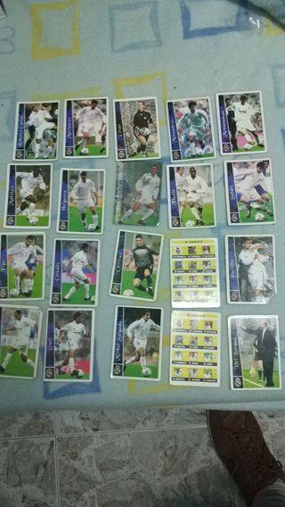 Cromos del Real Madrid de 2002-2003