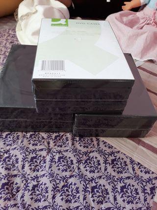 caratulas de DVD 6€ los paquetes están sin abrir