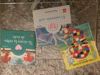 Libros niños a partir de 3 años