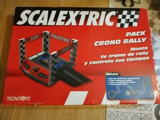 Pack crono rally scalextric