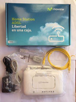 Como nuevo. Router Wifi ADSL por cambio compañia.